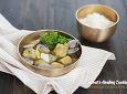 단아하고 담백한 궁중 요리~ 향긋한 쑥 애탕국