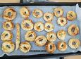 뚝딱 간식, 튀기지 않은 견과류 두부 도넛